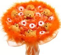 Букет из игрушек Апельсин